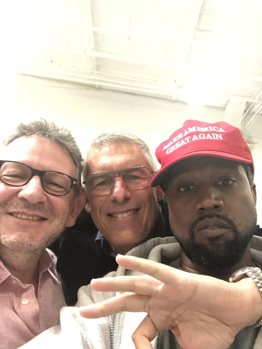 Kanye Make America Great Again