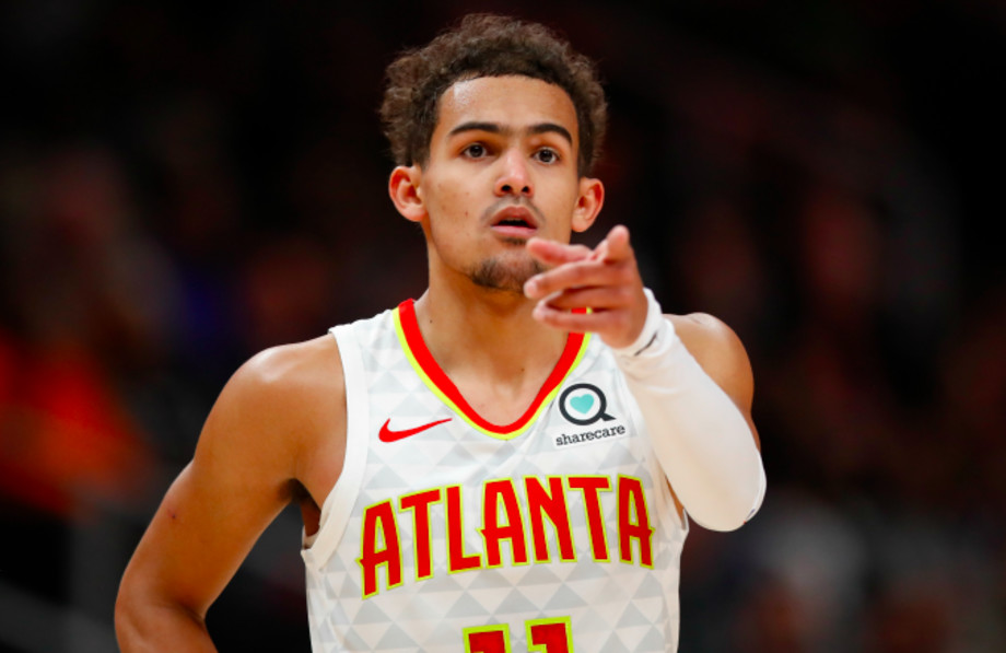 Trae Young #11 of the Atlanta Hawks