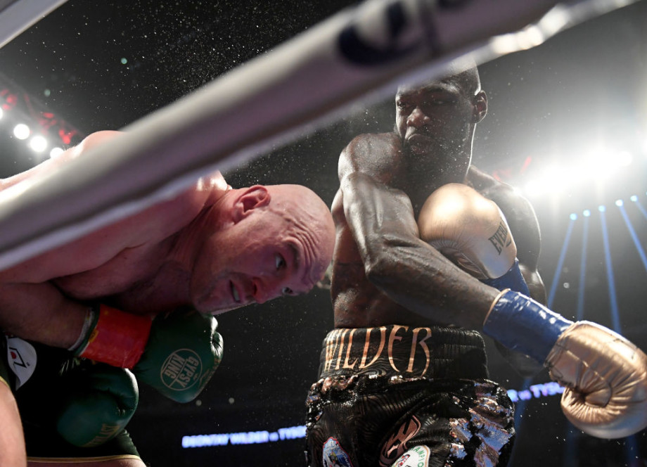 Deontay Wilder Tyson Fury 5th Round 2018