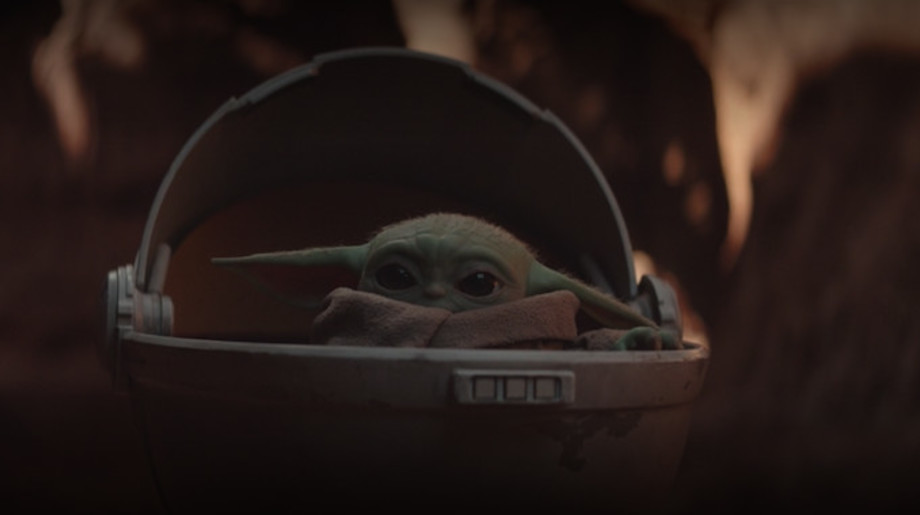 Picture of Baby Yoda.