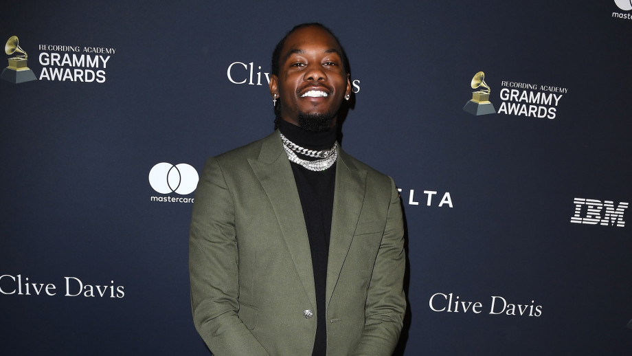 Offset arrives at the Pre-GRAMMY Gala and GRAMMY Salute