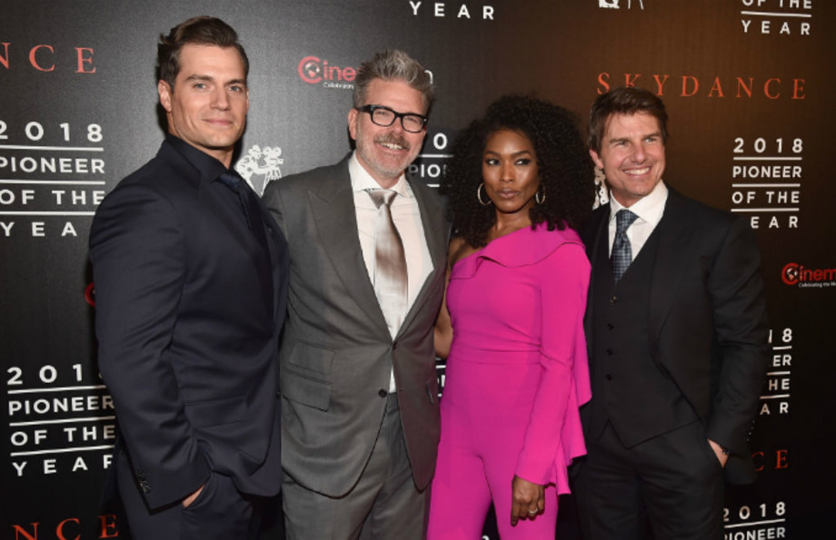 Henry Cavill Christopher McQuarrie Angela Bassett Tom Cruise Mission: Impossible – Fallout