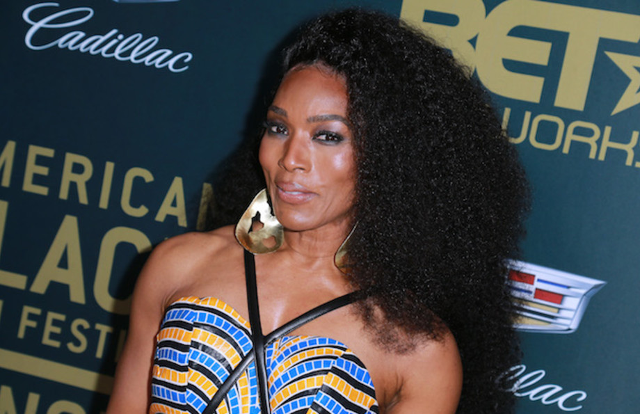 Actress Angela Bassett attends the 2018 American Black Film Festival Honors Awards.