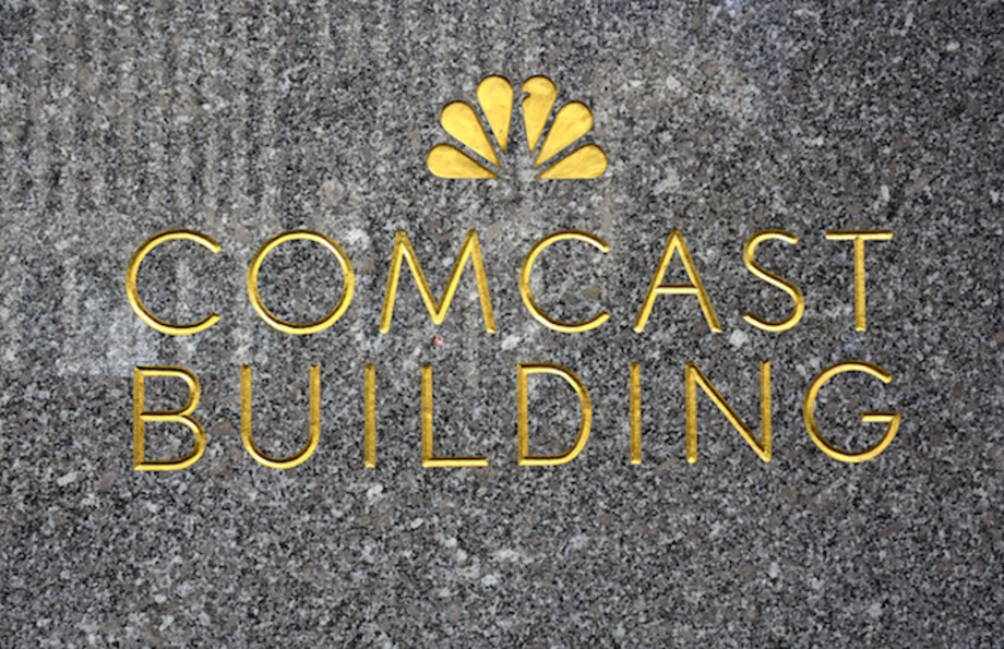 Comcast Building in New York, New York.