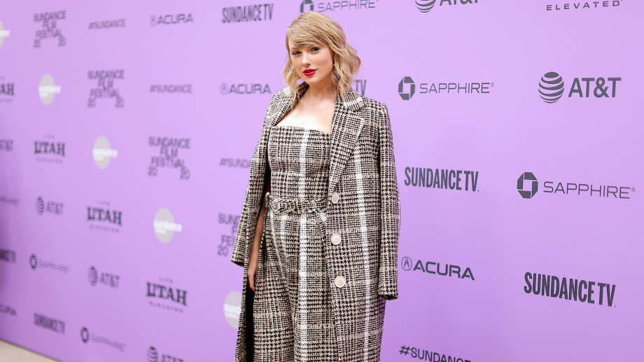"Taylor Swift attends the 2020 Sundance Film Festival - ""Miss Americana"" Premiere"