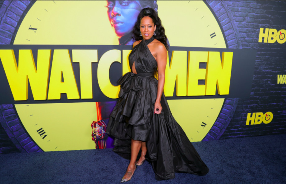 """Regina King attends the premiere of HBO's """"Watchmen"""" at The Cinerama Dome"""