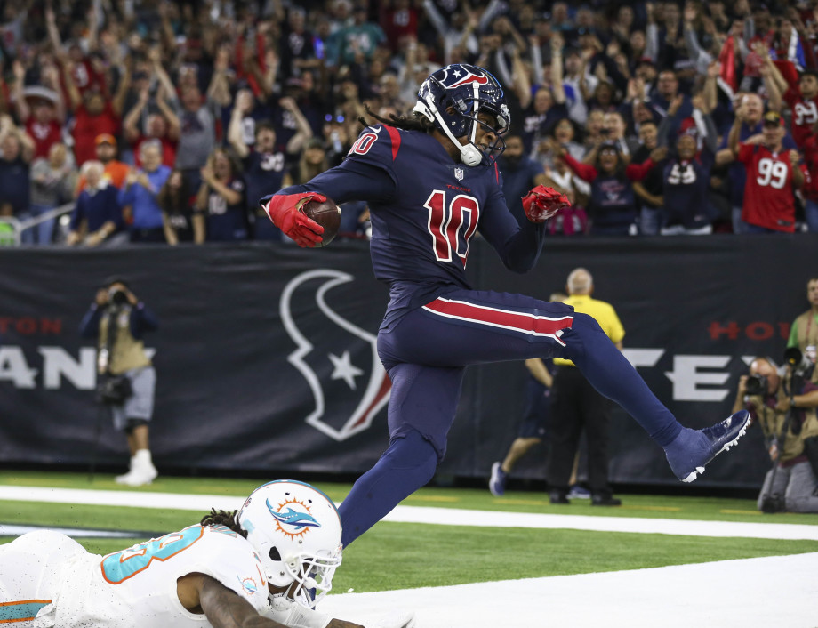 DeAndre Hopkins Texans Dolphins 2018