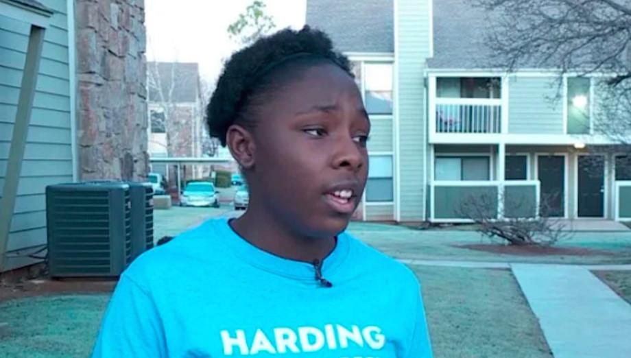 Student at Harding Charter Preparatory in Oklahoma City