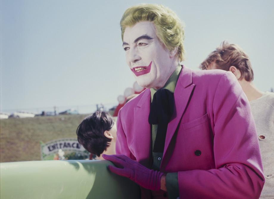 Cesar Romero as Joker in the 'Batman' television series