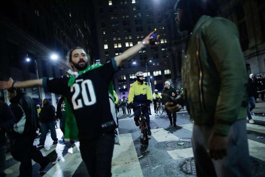 Philadelphia Eagles Fans Super Bowl 2018