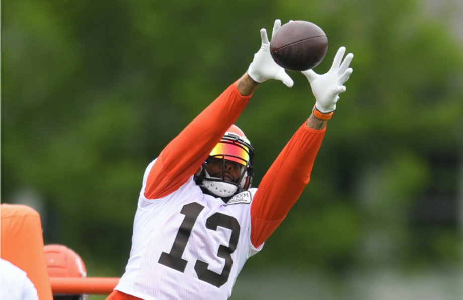 Wide receiver Odell Beckham Jr. #13 of the Cleveland Browns