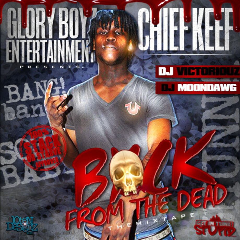 rapper-mix-tape-chief-keef-dead