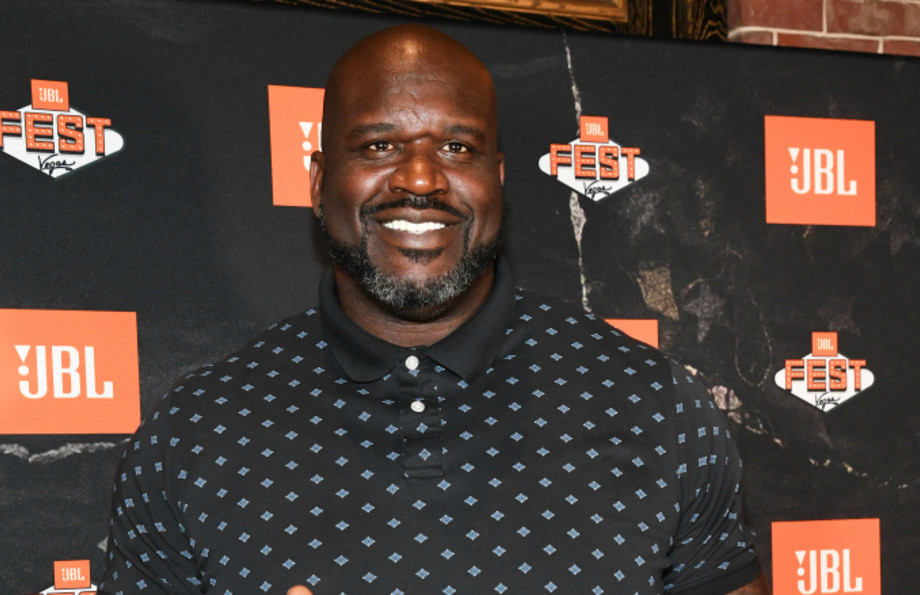 Shaquille O'Neal arrives at Omnia Nightclub