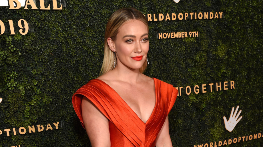 Hilary Duff attends the 5th Adopt Together Baby Ball Gala