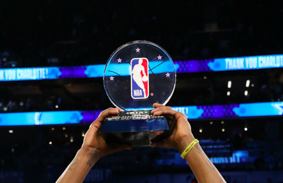 The All-Star Game MVP trophy