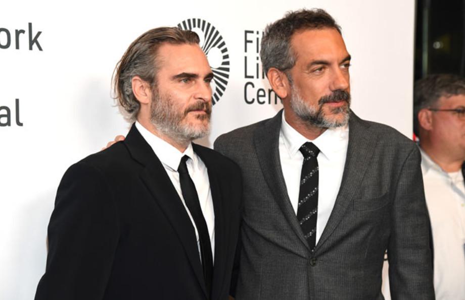 Joaquin Phoenix with 'Joker' director Todd Phillips