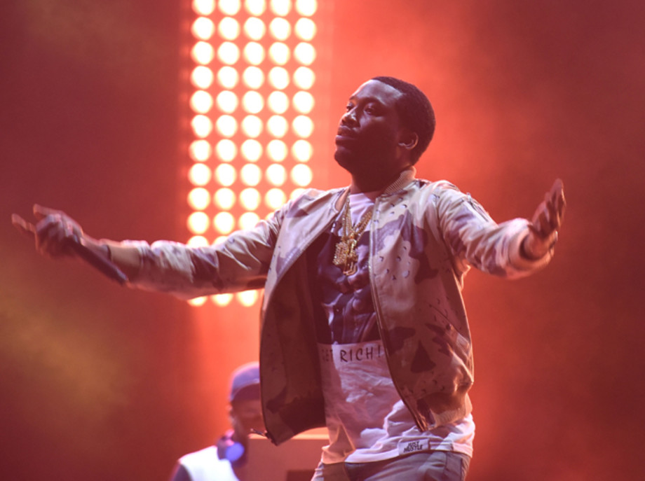 Meek Mill performs at Made In America 2017