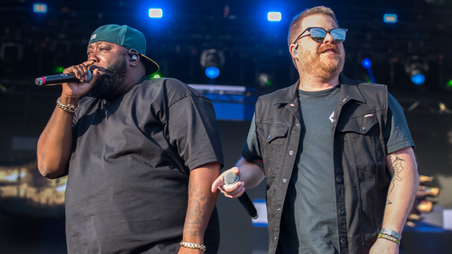 Killer Mike and El-P of Run the Jewels perform during the All Points East Festival