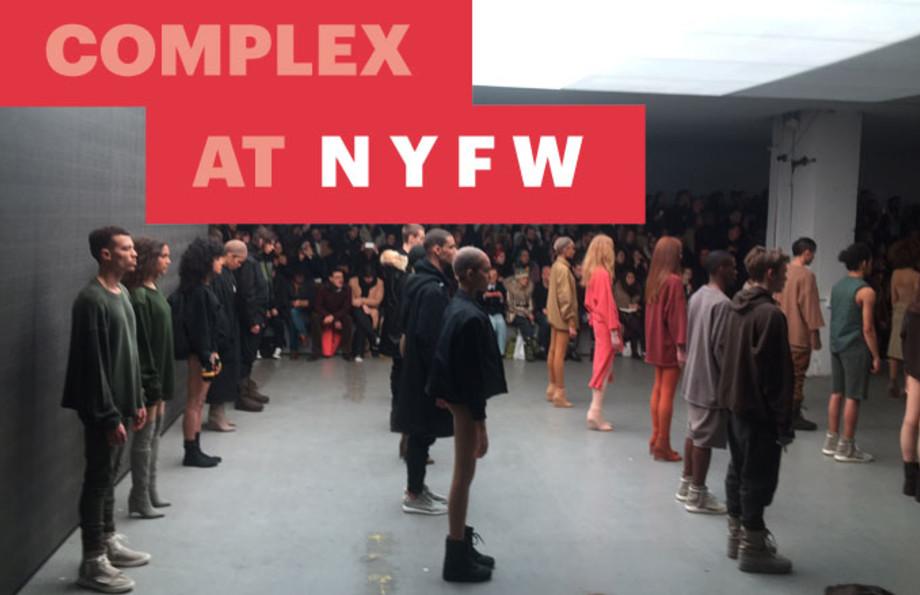 Kanye West Adidas Fashion Show