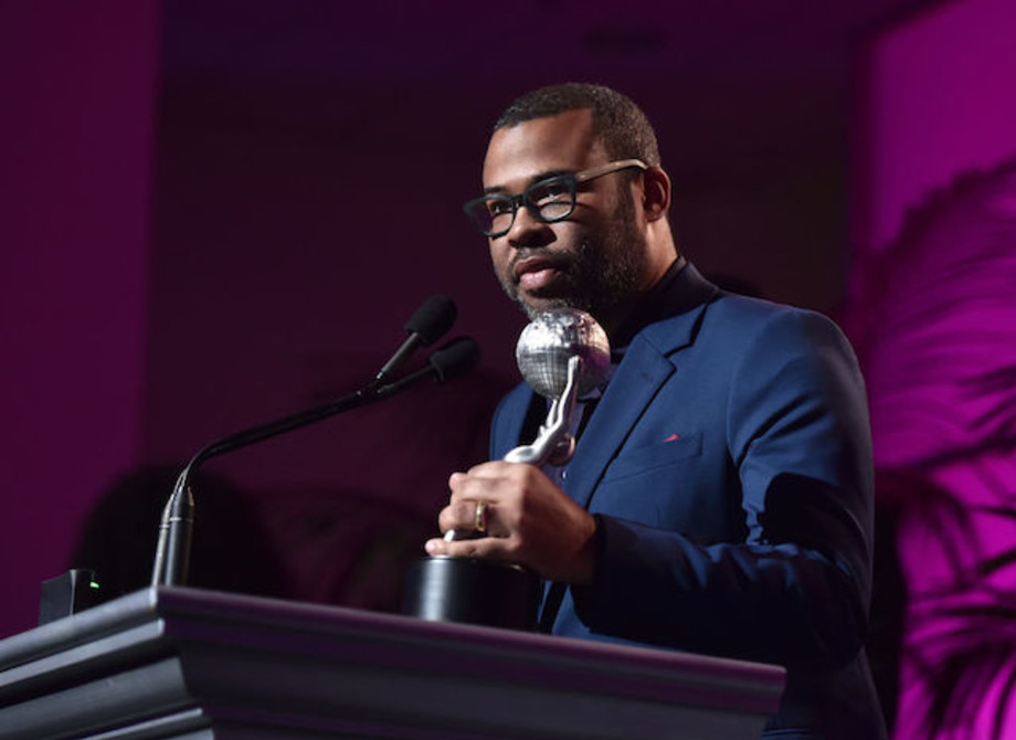 This is a picture of Jordan Peele.