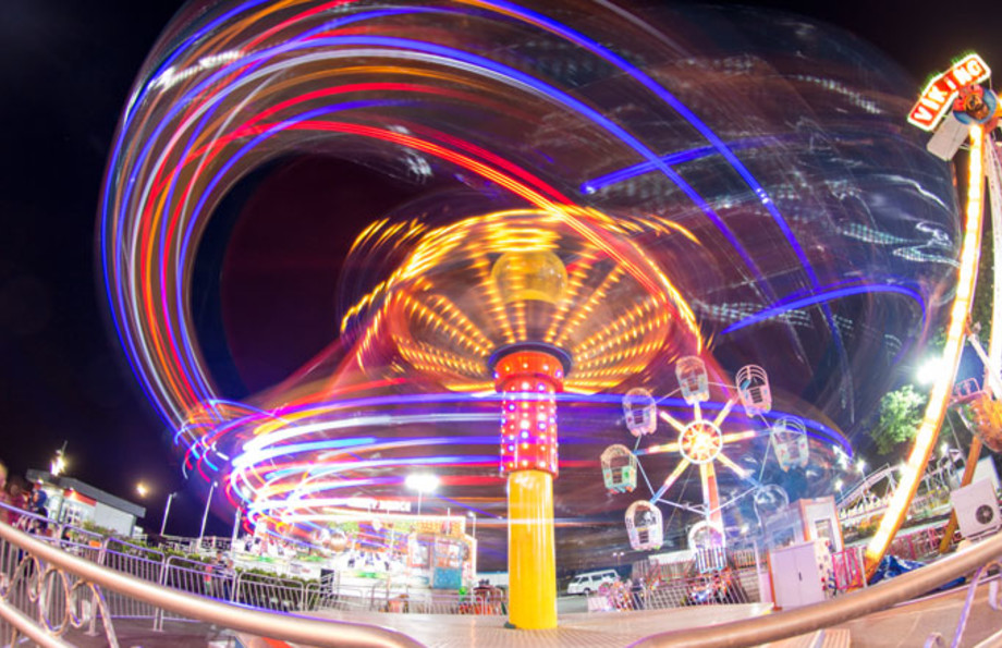 Stock photo from a carnival/amusement park.