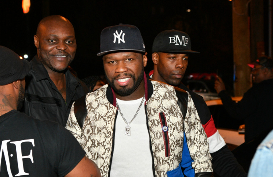 50 Cent attends The Grand Opening of Kiss Ultra Lounge