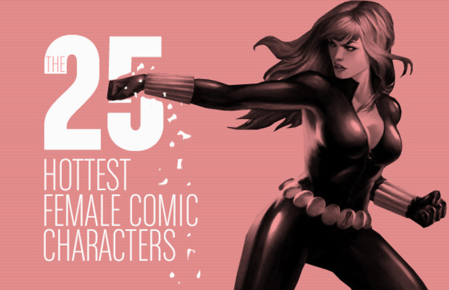 The 25 Hottest Female Comic Characters