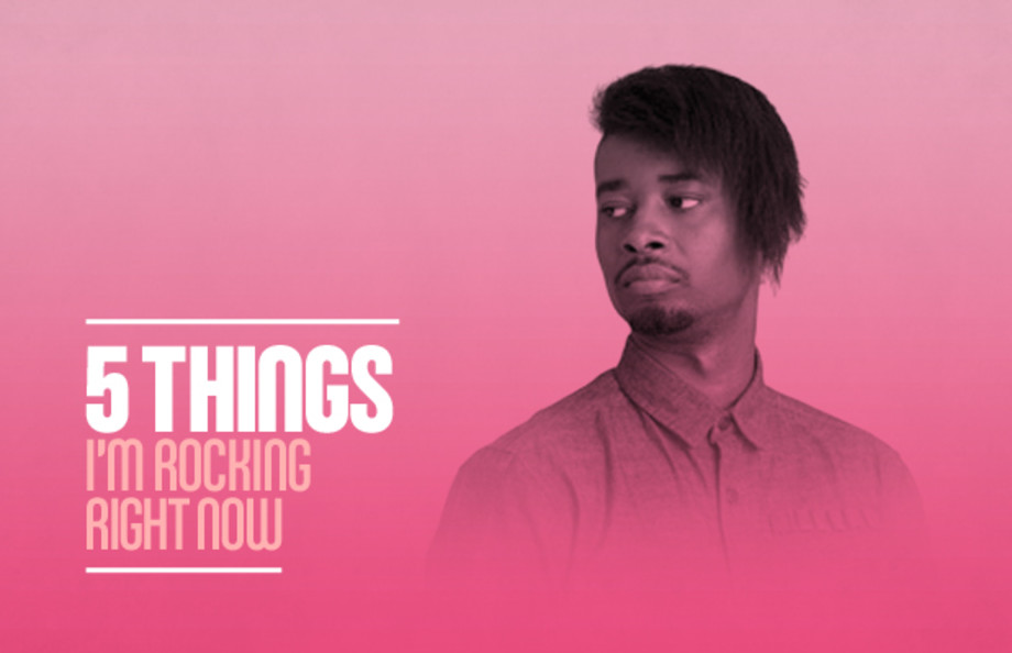 5 Things I'm Rocking Right Now: Danny Brown