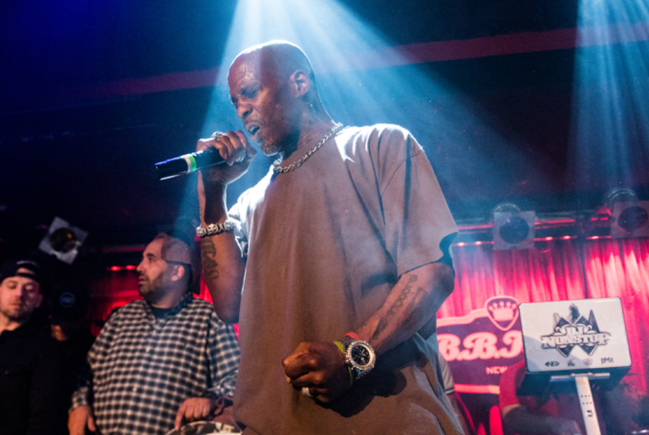 DMX performs in concert at B.B. King Blues Club & Grill