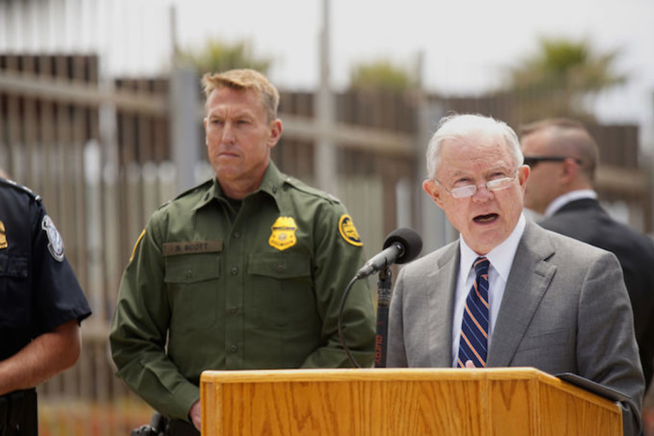 Jeff Sessions Border