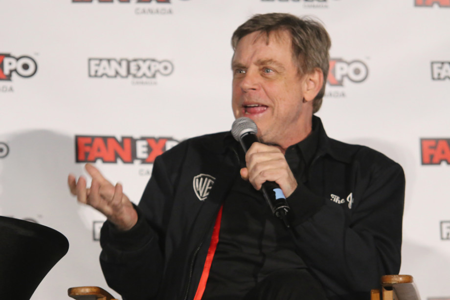 Actor Mark Hamill, the voice of the Joker attends Fan Expo Canada, 2016
