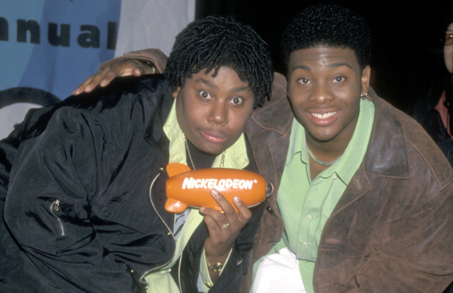 Actor Kenan Thompson and actor Kel Mitchell
