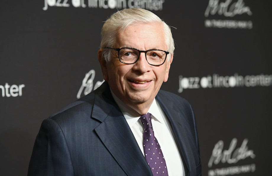 David Stern attends Jazz at Lincoln Center's 2019 Gala.