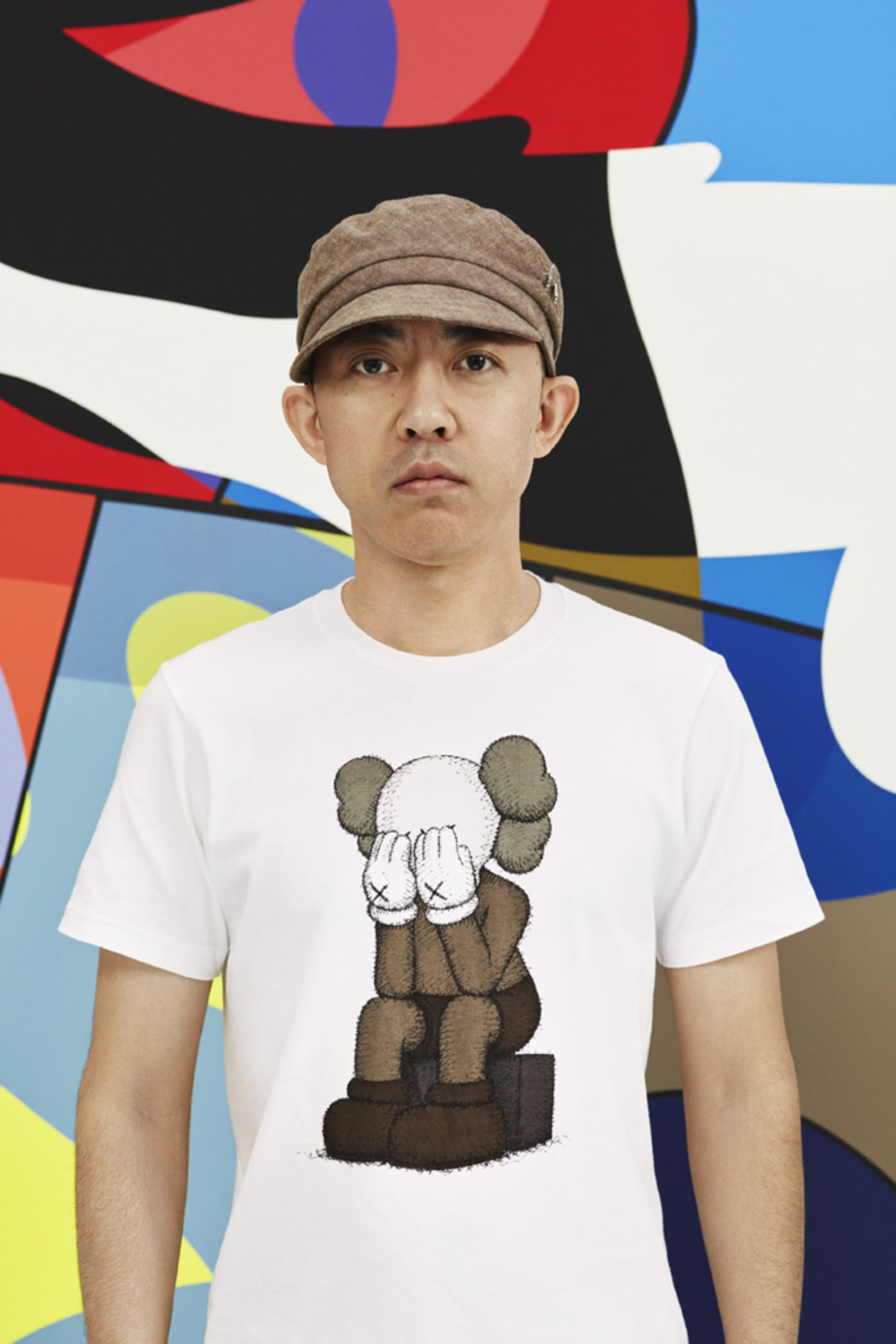 nigo on uniqlo ut x kaws collaboration