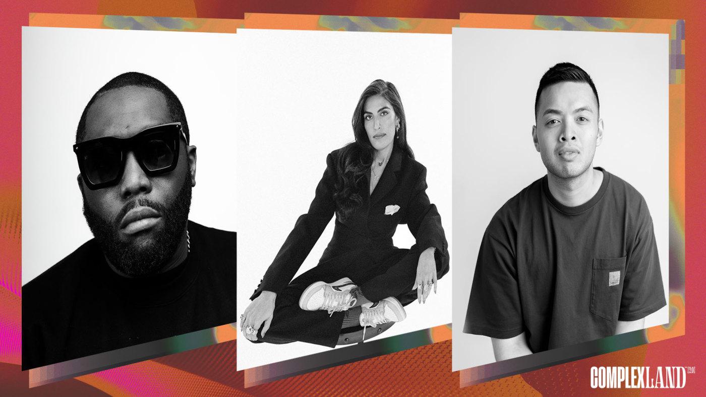Killer Mike, Melody Ehsani, Luis DeGuzman for 99designs by Vistaprint