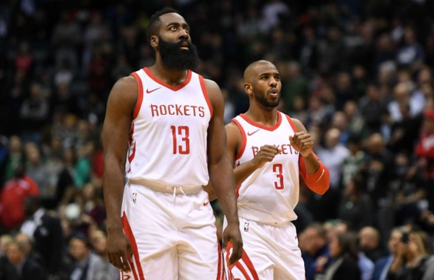 James Harden and Chris Paul.