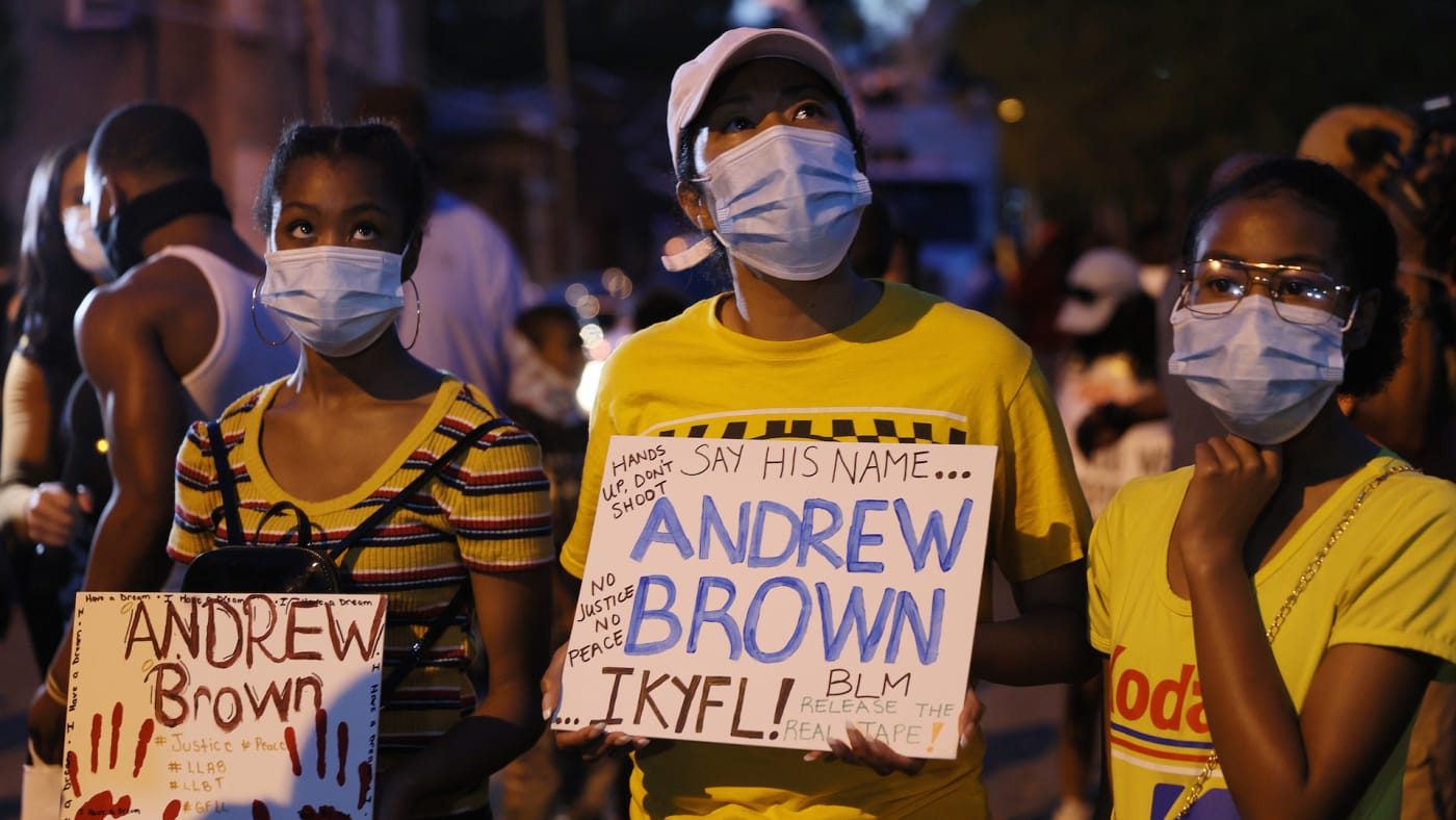 Protesters calling for justice for Andrew Brown Jr.