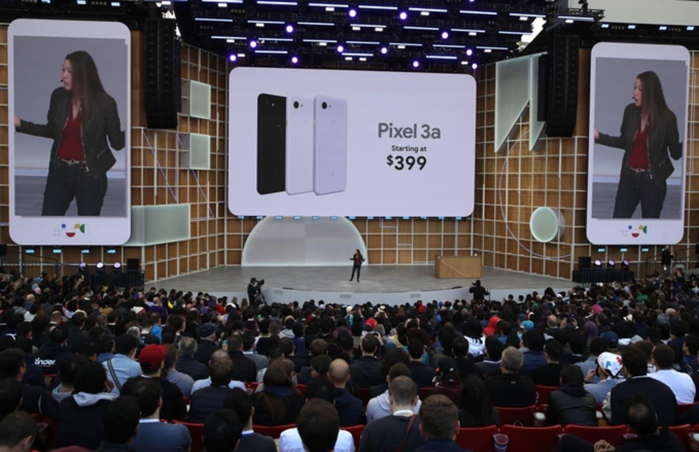 google io conference pixel phone