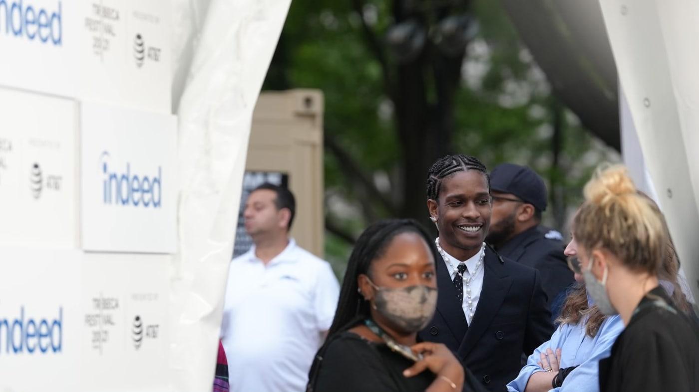ASAP Rocky attends Tribeca Film Festival 2021