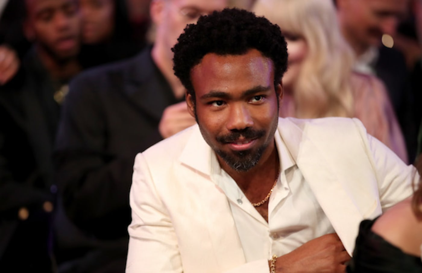 Childish Gambino attends the 60th Annual Grammy Awards at Madison Square Garden.