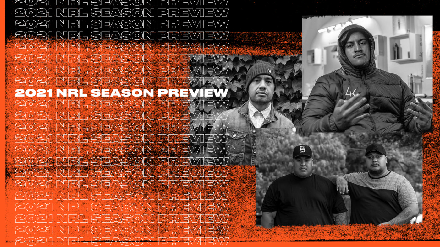 Australian hip hop figures Lisi, Hau and Pistol Pete & Enzo predict the 2021 NRL season