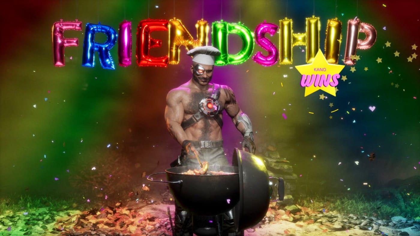 Mortal Kombat 11: Aftermath Friendship