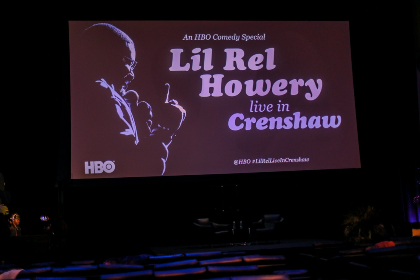 Lil Rel Howery Live In Crenshaw Screening