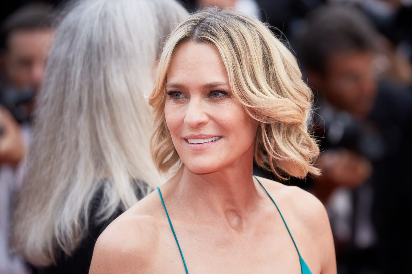 This is a photo of TV actress Robin Wright.