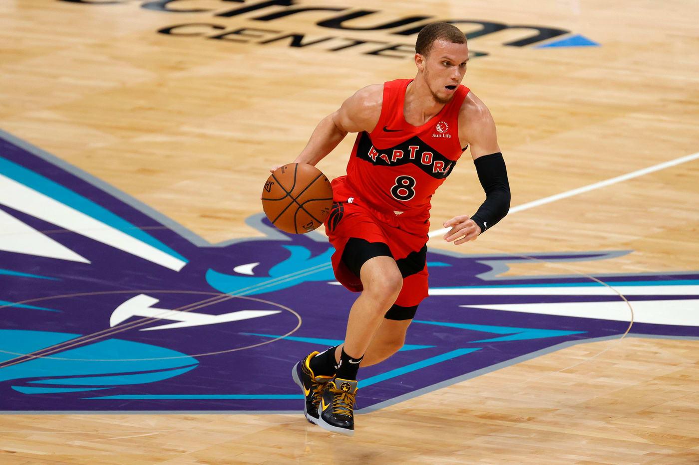 Toronto Raptors' Malachi Flynn