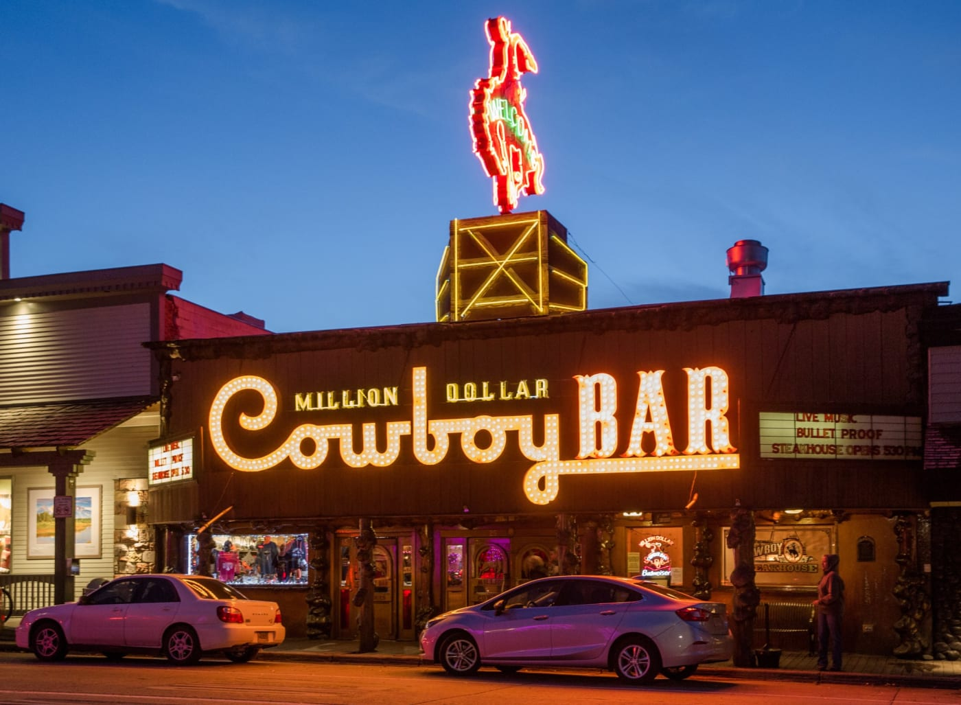 million dollar cowboy bar photo