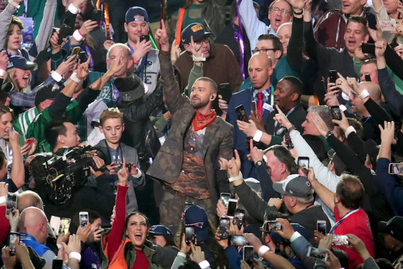 This is a picture of Justin Timberlake.
