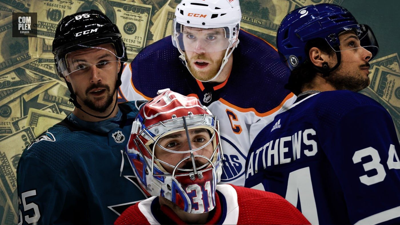 The 15 Highest Paid NHL Players in 2021/2022