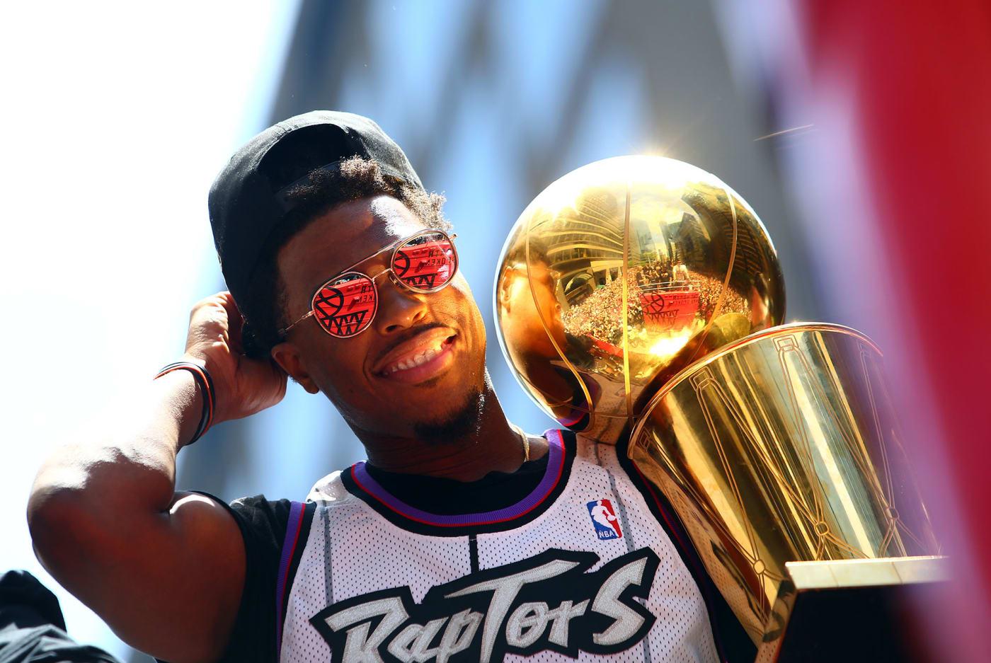 Kyle Lowry Raptors championship parade Toronto