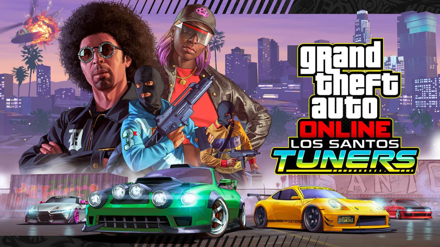 GTA Online Los Santos Tuners -Lead Launch Art